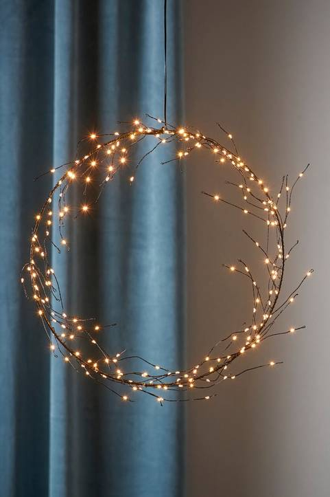 NIKE dekorationskrans LED
