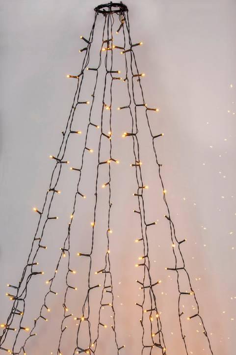GOLDEN julgransslinga LED