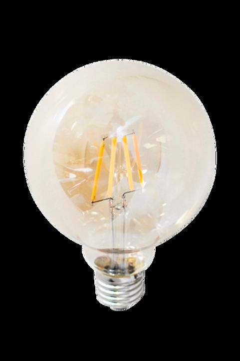 Filament dekorationslampa LED dimbar glob E27 4W ø 95 mm amber
