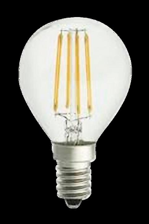 Filament dekorationslampa LED dimbar klot E14 4W ø 45 mm amber