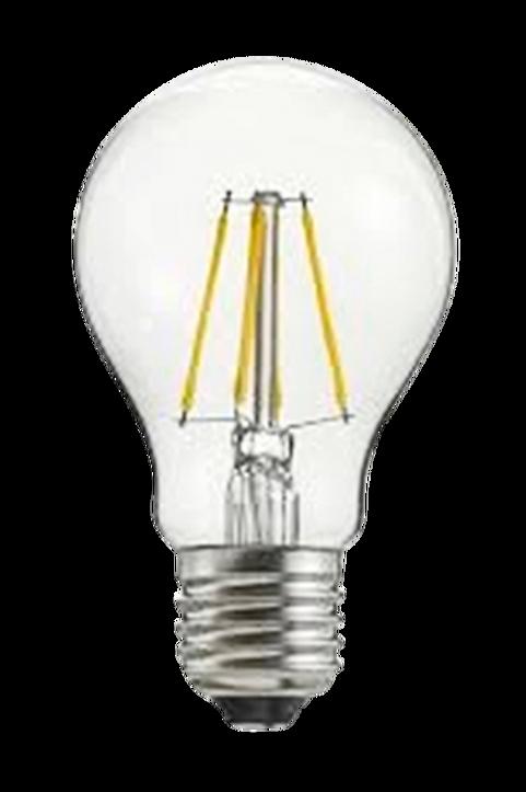 Filament dekorationslampa LED dimbar E27 4W ø 60 mm amber