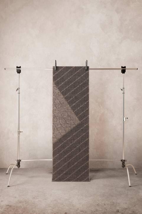 BLOCK slätvävd matta 70x200 cm