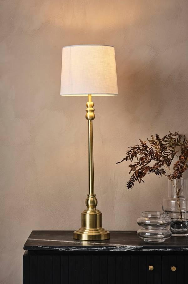 Bilde av ANDREW LEE bordlampe - høy - 30151