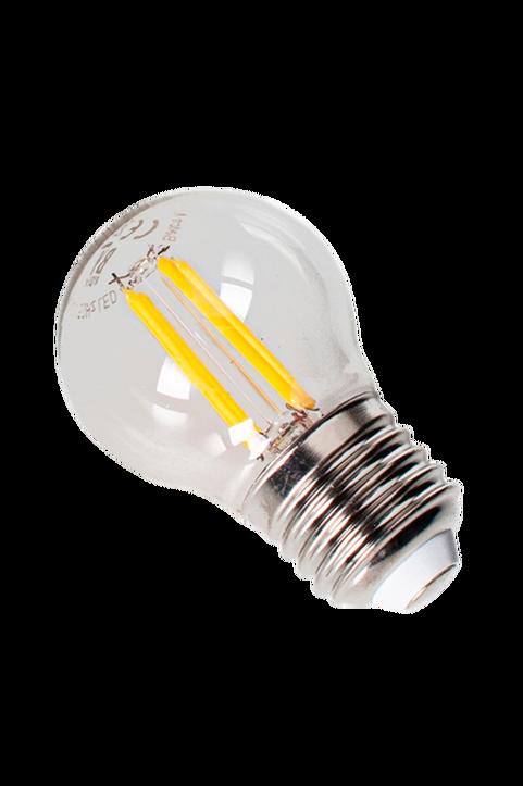 LED filament dekorationslampa dimbar E27 klarglas