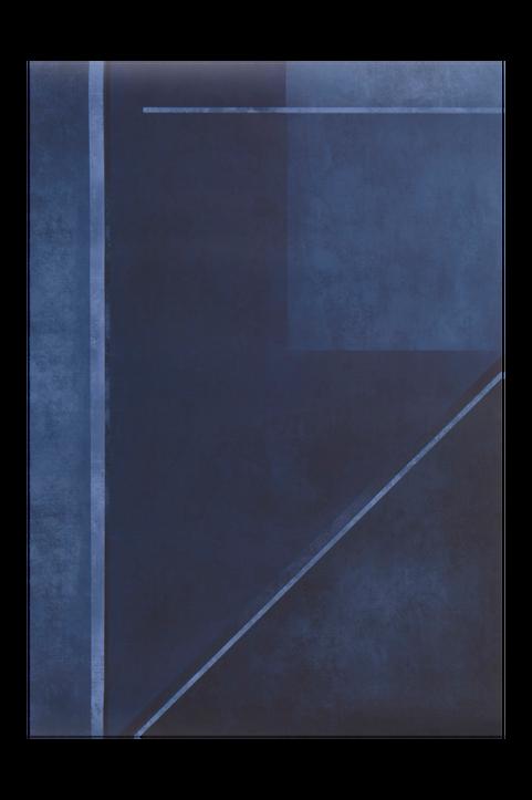 BLUE BLOCKS poster 70x100 cm