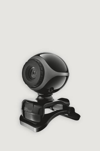 Trust Exis Webcam - Svart/silver  Male