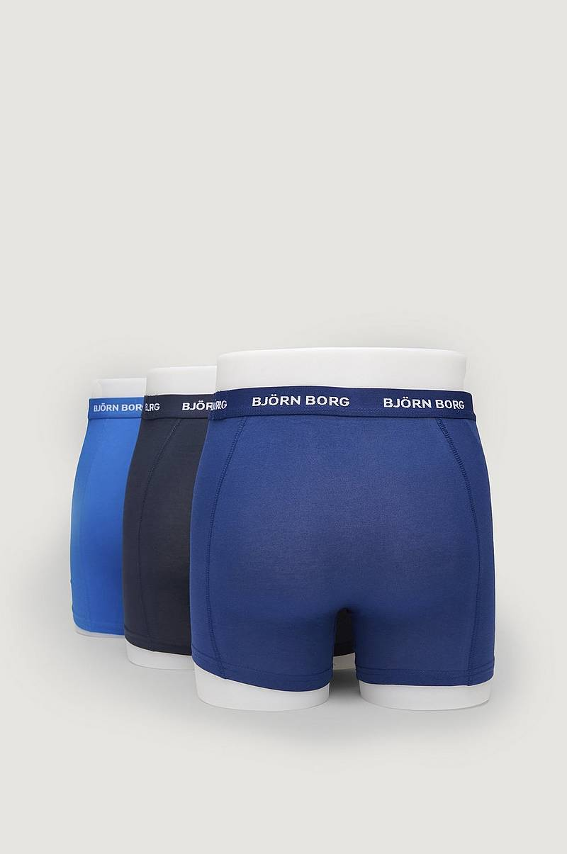 Boxershorts Noos Solids 3-pack