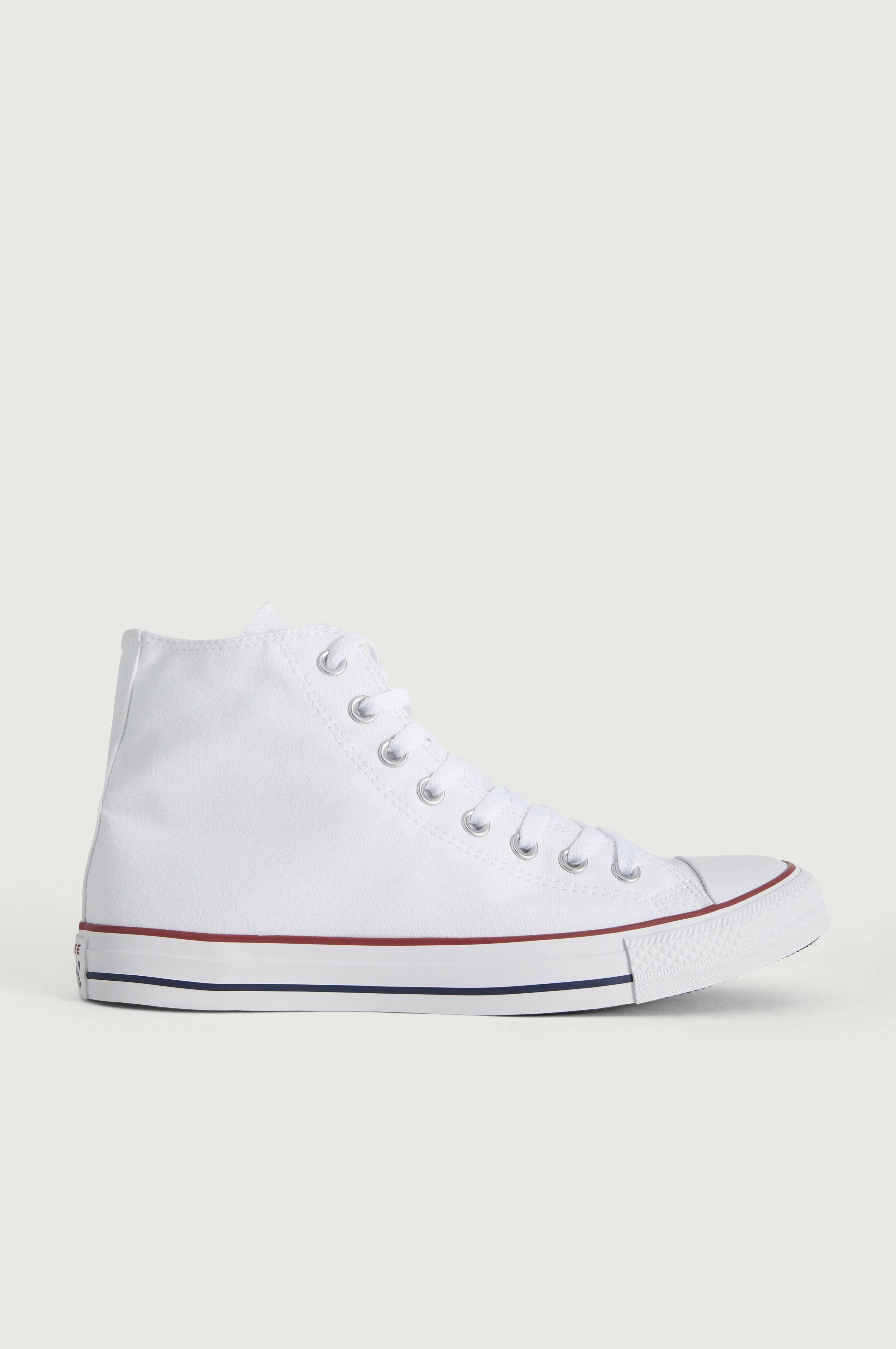 Converse All Star Canvas Hi Sneakers & textilskor Vit