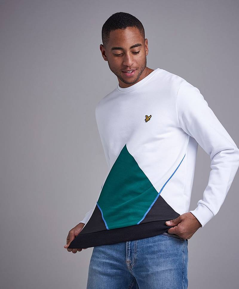 Upstract Argyle Sweatshirt