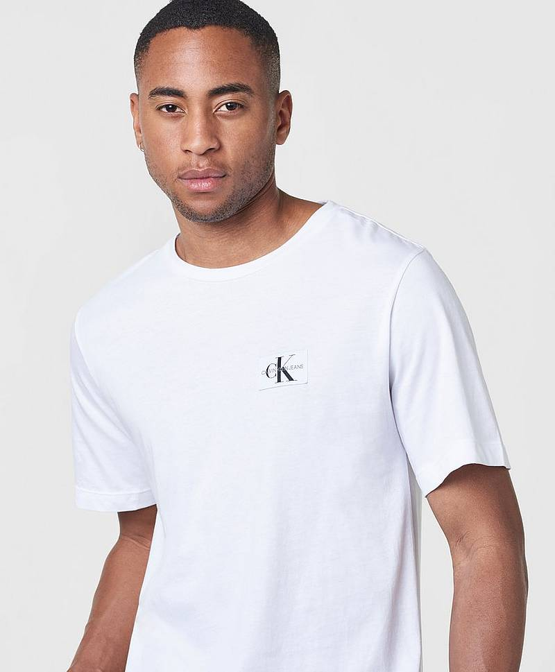 Monogram Chest Badge Cotton Tee