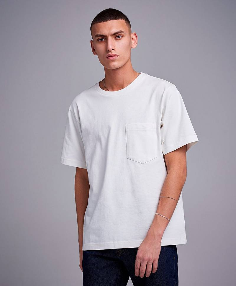 Logo Text Relaxed Fit T-shirt