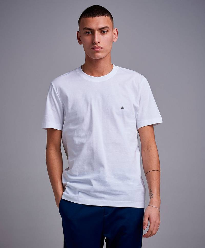 Cotton Logo Embroidery T-shirt
