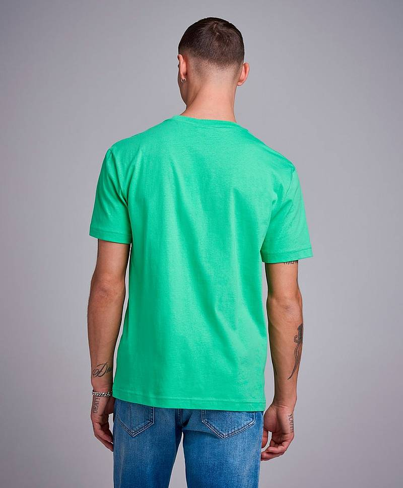 Cotton Chest Logo T-shirt