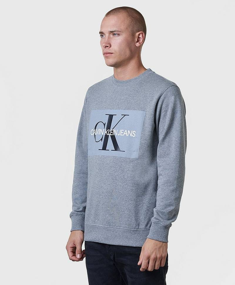 Basic Monogram Logo Sweat