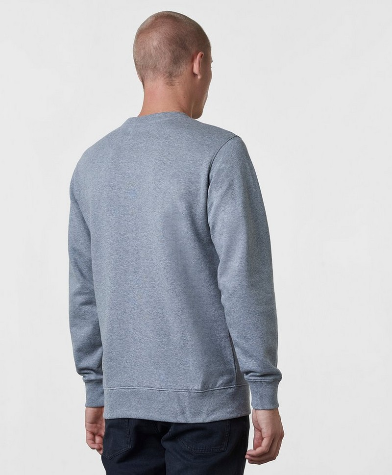 Collegepusero Basic Monogram Logo Sweat