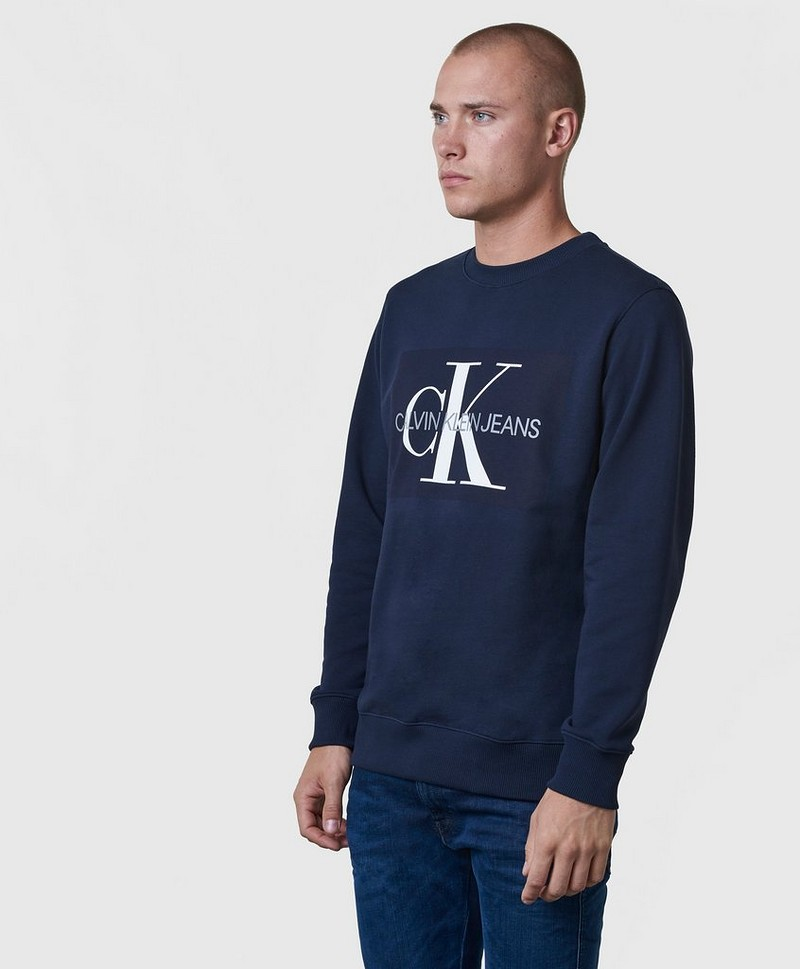 Sweatshirt Basic Monogram Logo Sweat