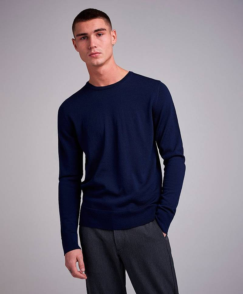 Superior Wool CN Pullover