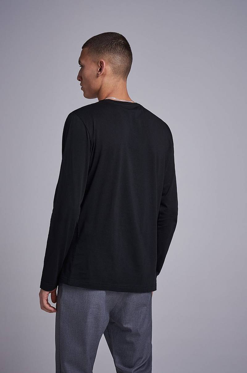 Genser Long Sleeve Crew Neck Tee