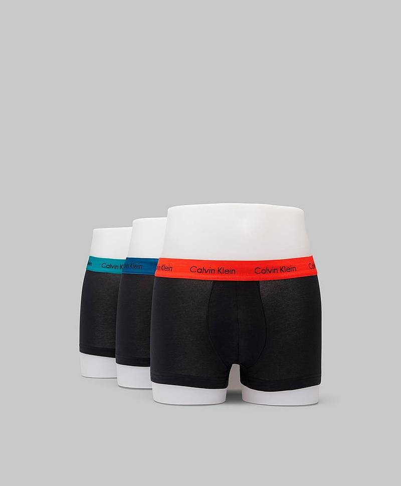 3-pack Trunk Lowrise Cotton Stretch KKH