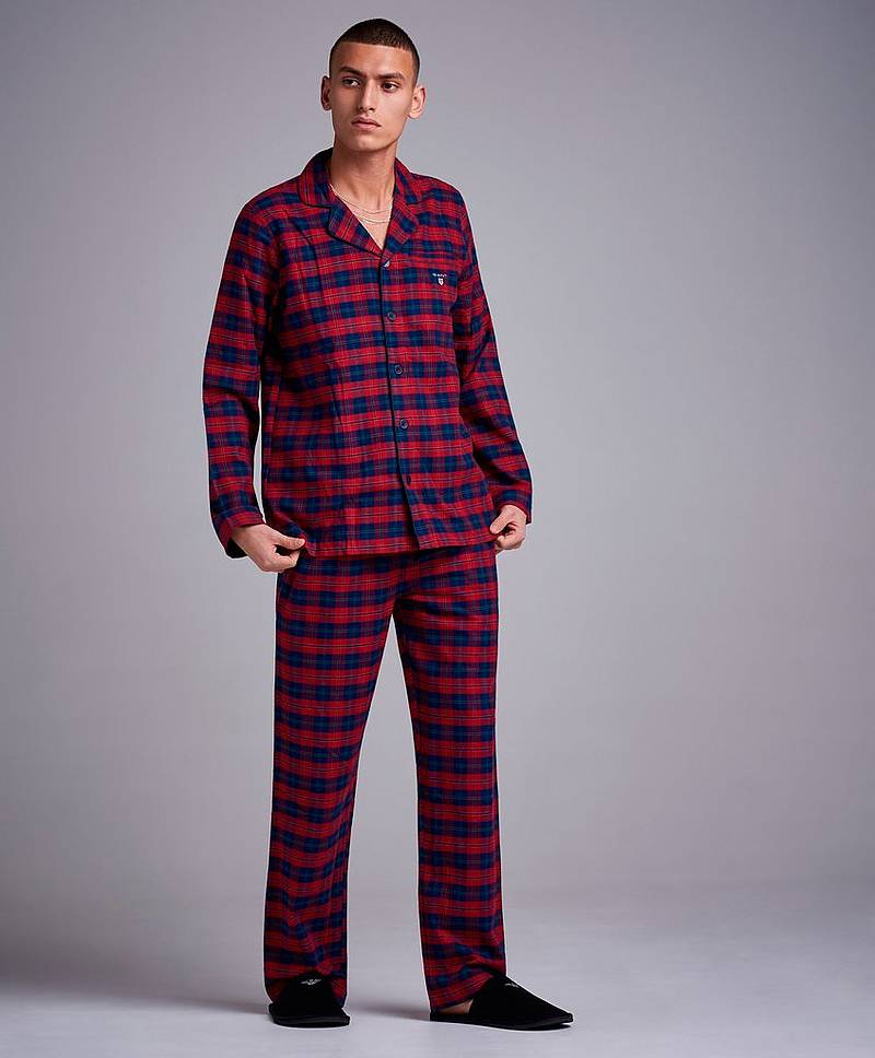 Flannel Pajama Set Shirt