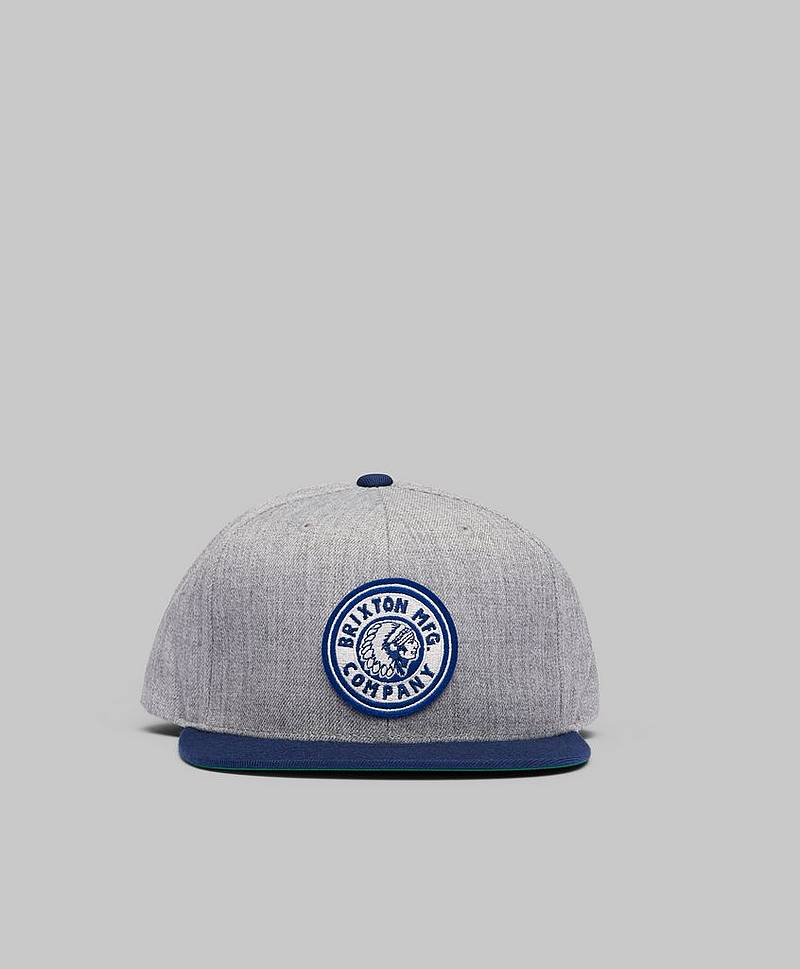 Rival Snapback Heather