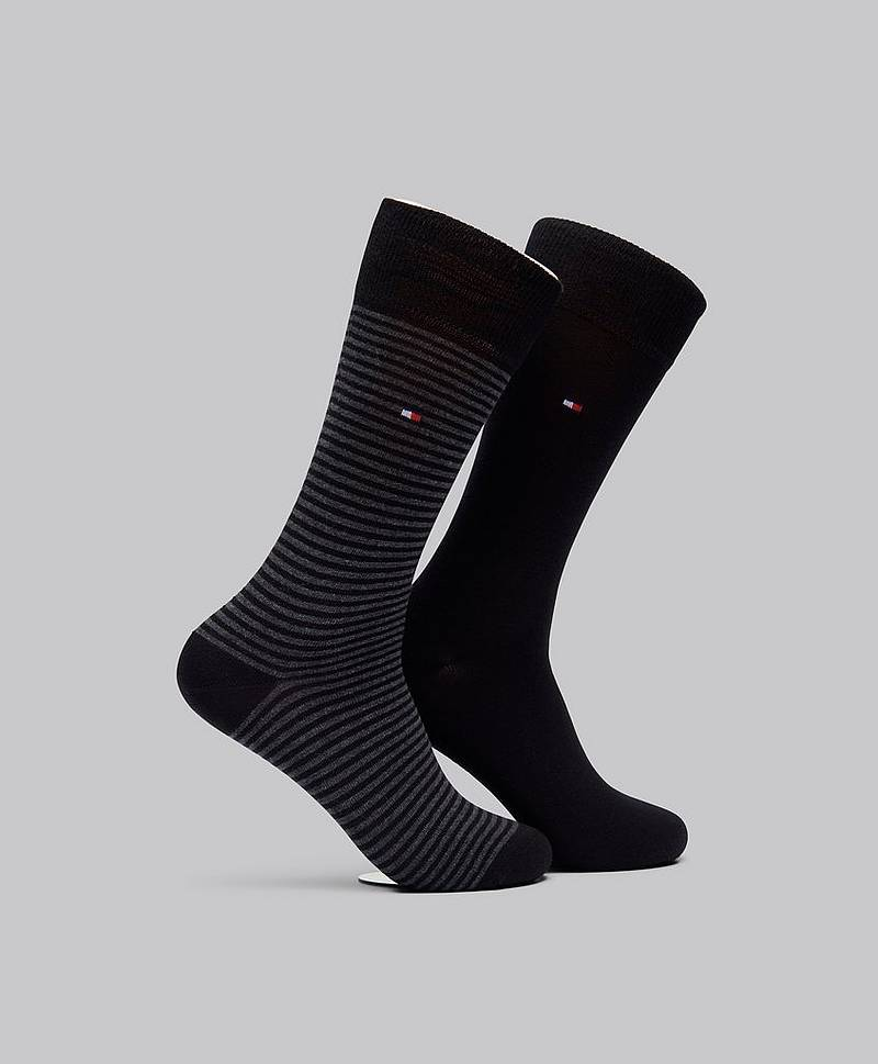2-pack Reg Cut Stripe Sock