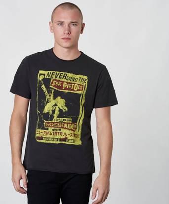 Bilde av Amplified T-shirt Sex Pistols Never Mind Grå