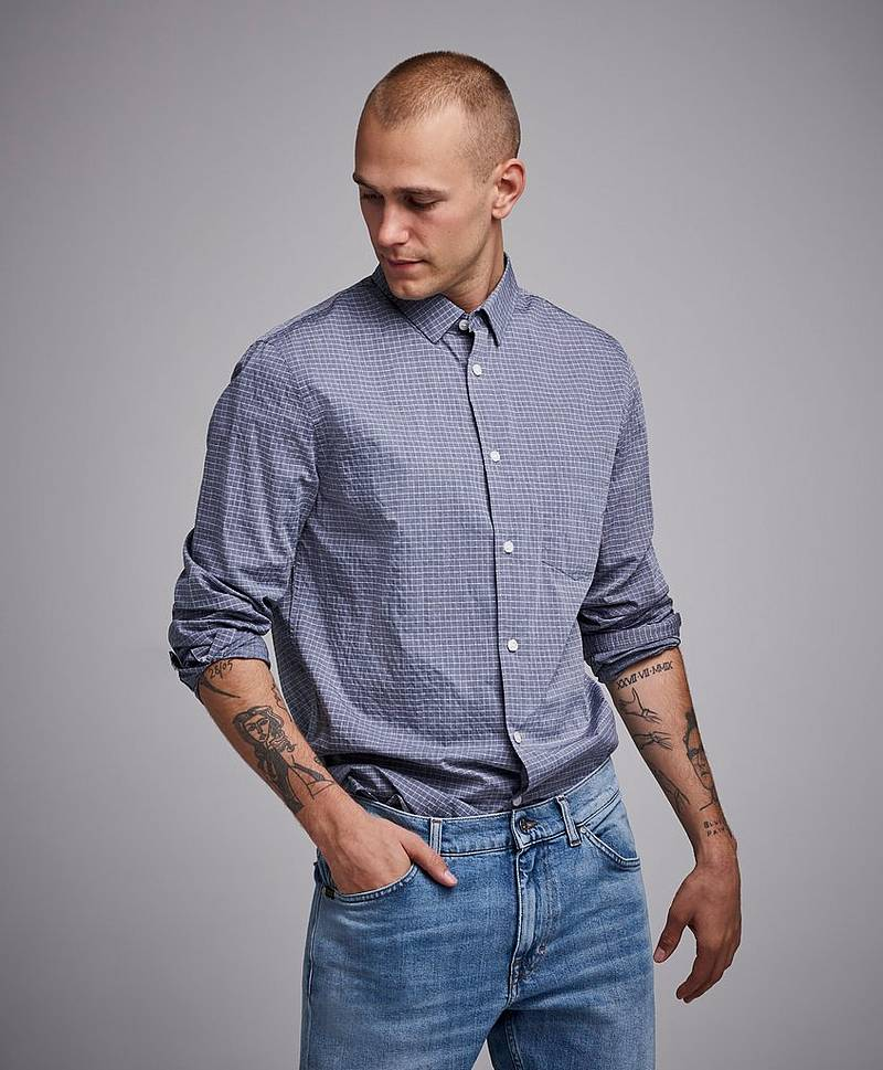 Tim Washed Check Shirt