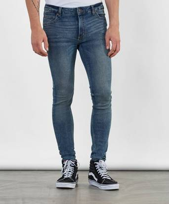 Cheap Monday Jeans Him Spray Blå