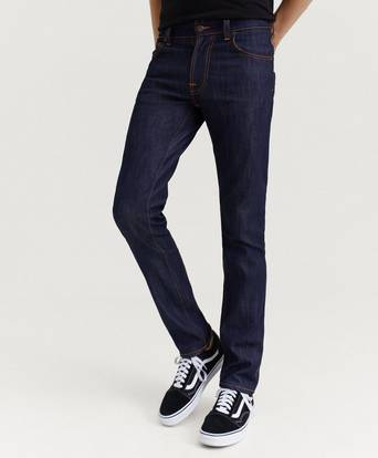 Nudie Jeans Jeans Thinn Finn Blå