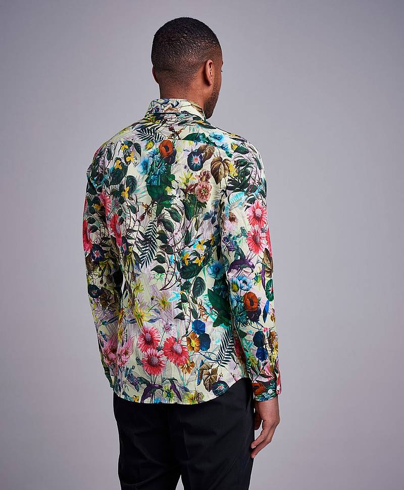 Buttondown Satin Shirt