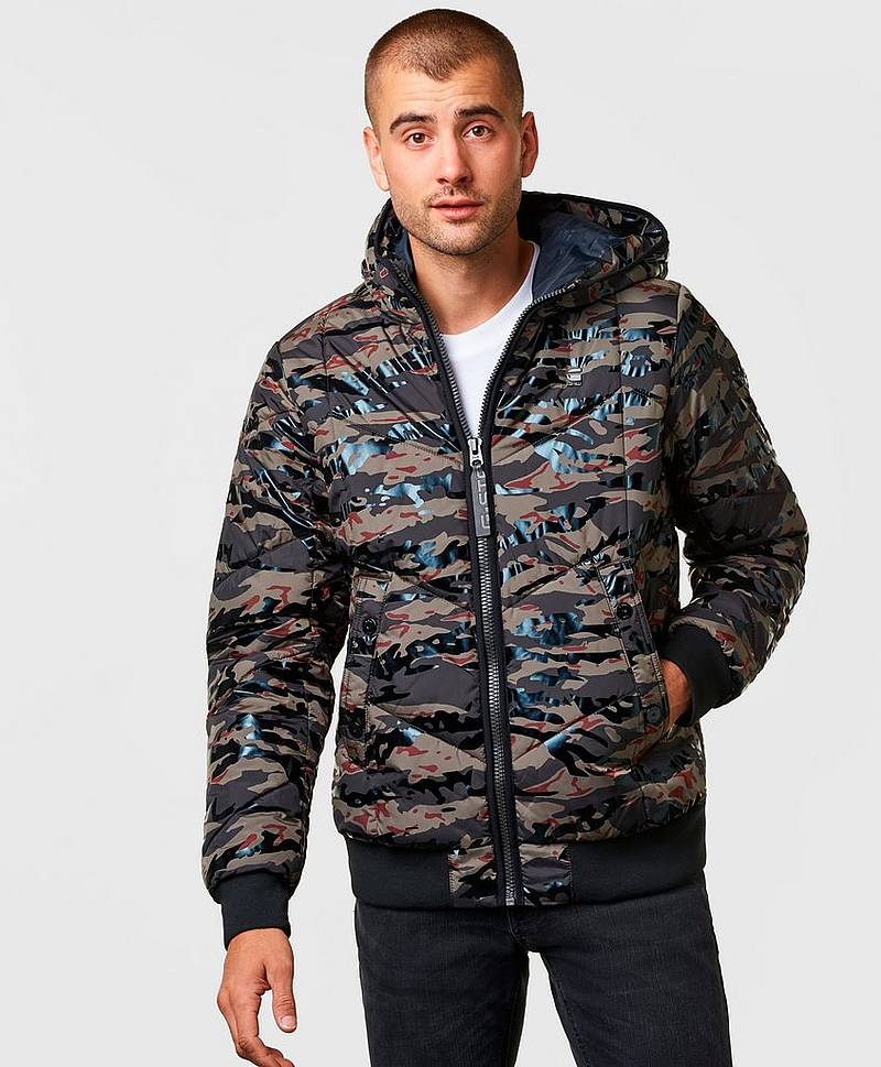 Strett Untillity Hooded Jacket Camo