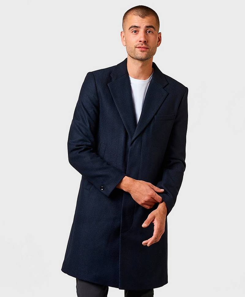 Ross Herringbone Coat