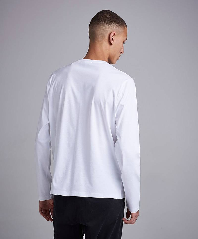 Mercerised LS Tee