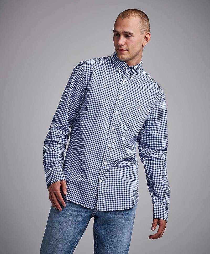 The Broadcloth Gingham Reg BD