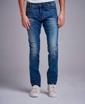 G-Star Jeans D - Staq 5 Pocket Elto Super Stretch Blå
