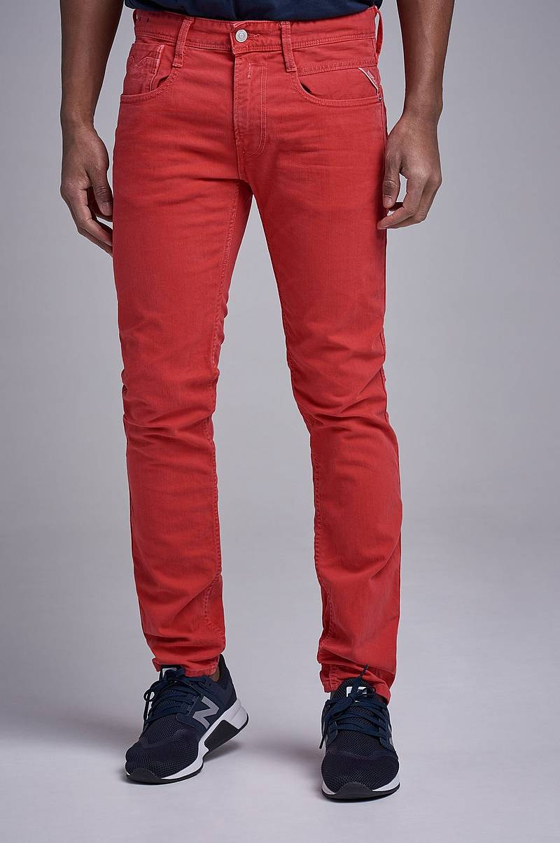 Anbass Colur Denim Red Wash