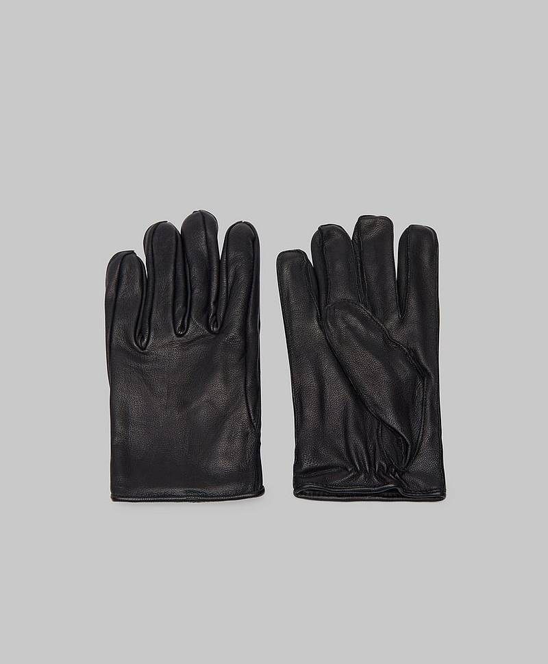 Geo Leather Glove