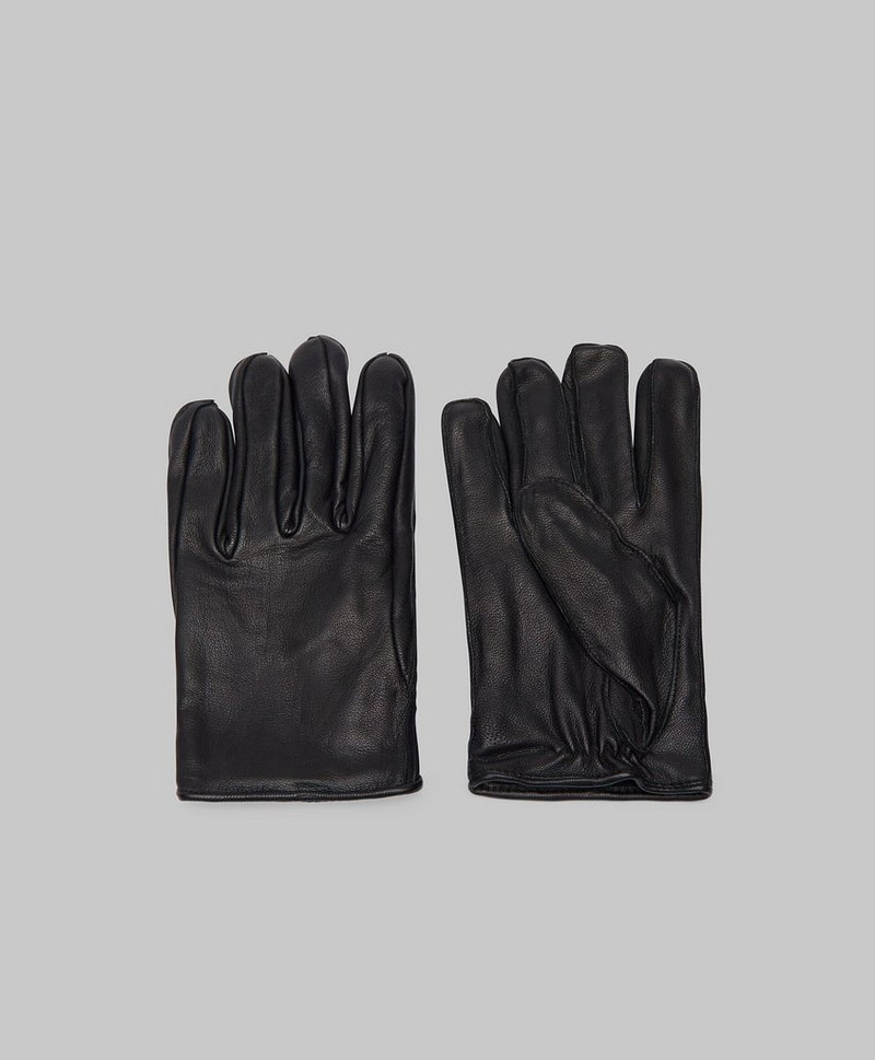 Handskar Geo Leather Glove