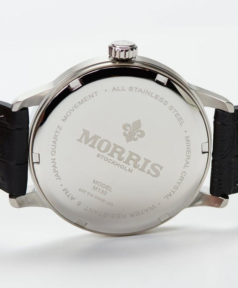 Morris Klokke James Svart Klokker Stayhard.no