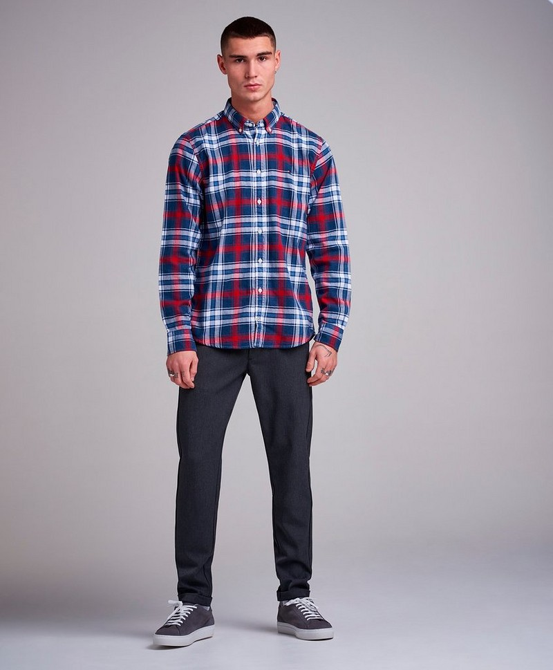 Checked Herringbone Shirt