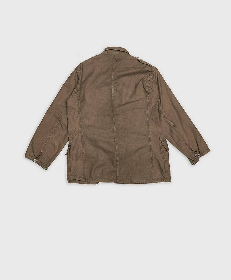 Swedish Army Chore Jacket Washed