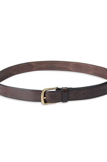 Morris Leather Belt Brun