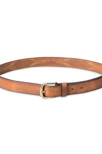 Morris Bälte Leather Belt Brun