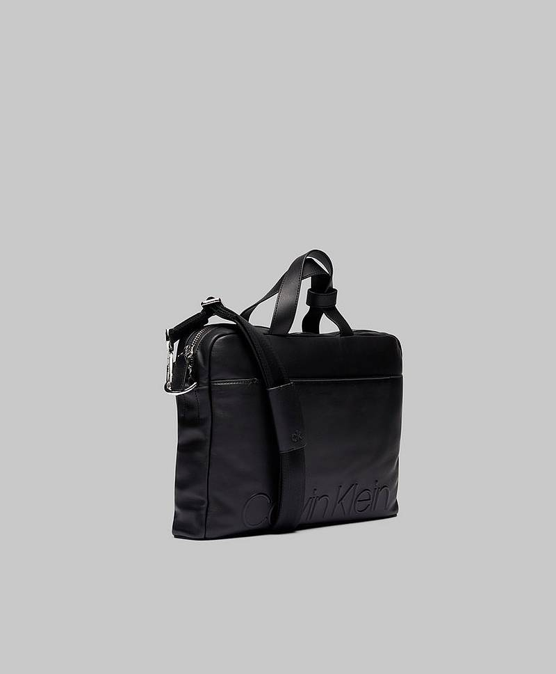 Statement Zip Slim Laptop Bag