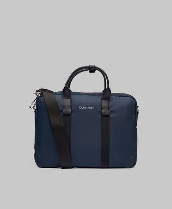 Calvin Klein Braced Laptop Bag Blå
