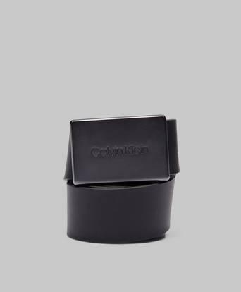 Calvin Klein Adj Plaque Belt Svart