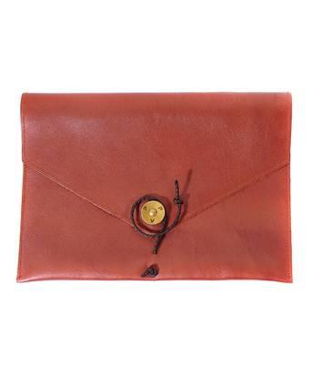 P.A.P Saltholmen Leather iPad Cover Brun