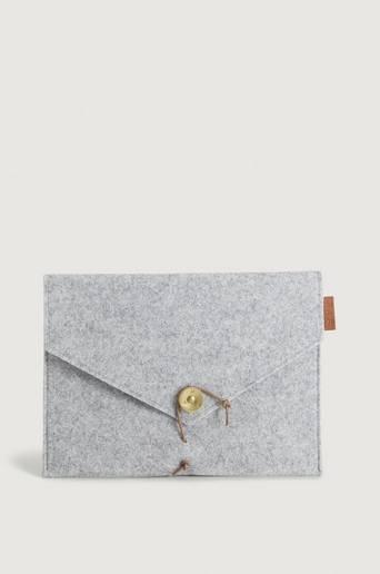 P.A.P Saltholmen Felt iPad Cover Grå