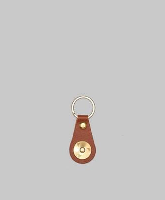 P.A.P Robin Key Ring Brun